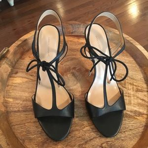 Banana Republic T Strap Heel with Laces - Like New